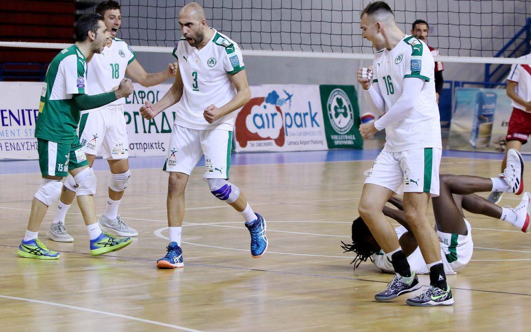 ΠΕΤΟΣΦΑΙΡΑ  Απέκτησε προβάδισμα πρόκρισης, 3-0 την ΑΕ Καραβά