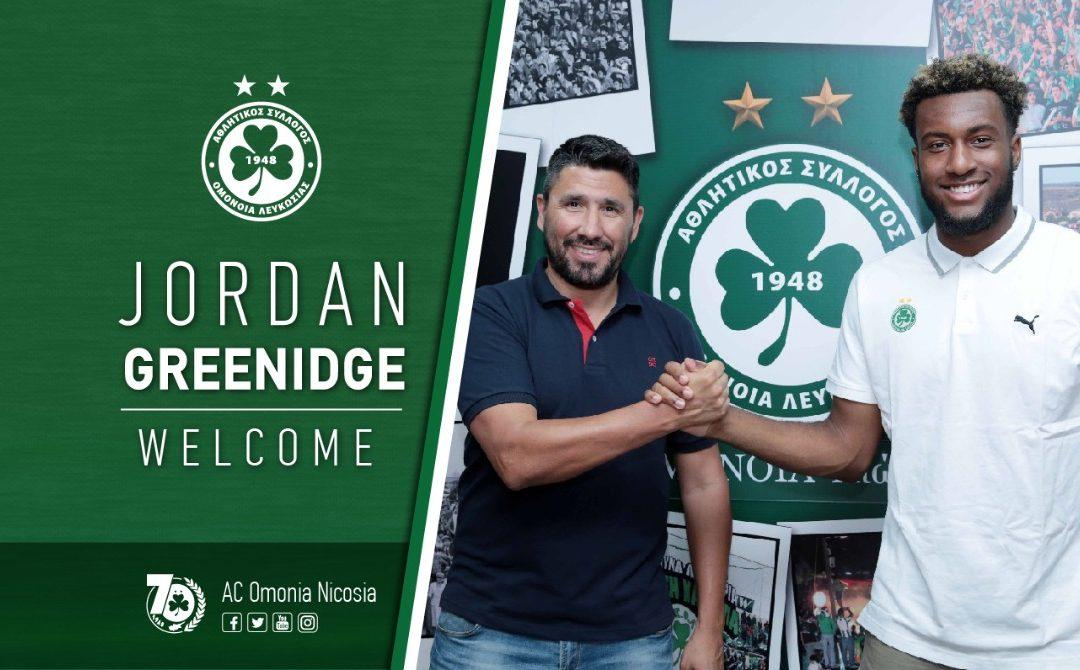 Ποδοσφαιριστής της ΟΜΟΝΟΙΑΣ ο Jordan Greenidge