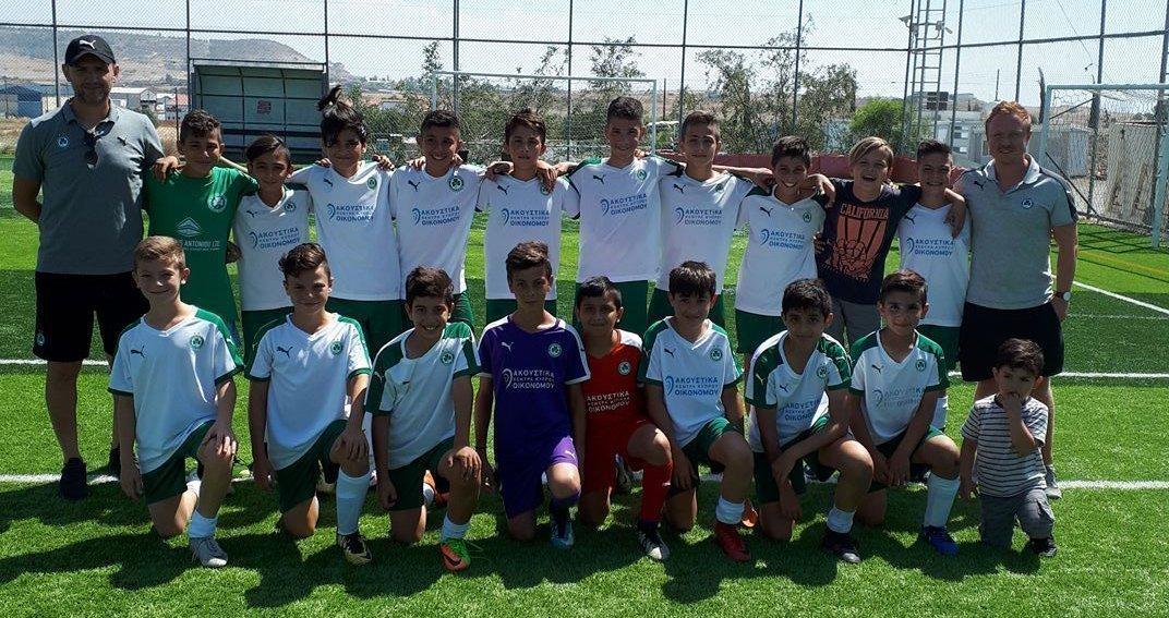 ΑΚΑΔΗΜΙΑ ΠΟΔΟΣΦΑΙΡΟΥ | Προκρίθηκε στον τελικό του πρωταθλήματος η ΟΜΟΝΟΙΑ U12 (κλιμάκιο Λεμεσού)!