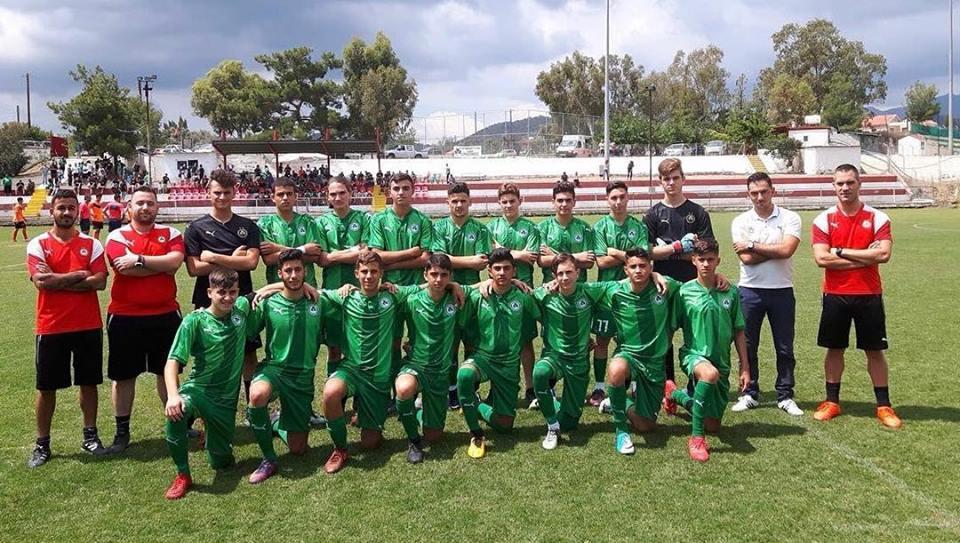 Επτά ποδοσφαιριστές της ΟΜΟΝΟΙΑΣ στην Εθνική U15