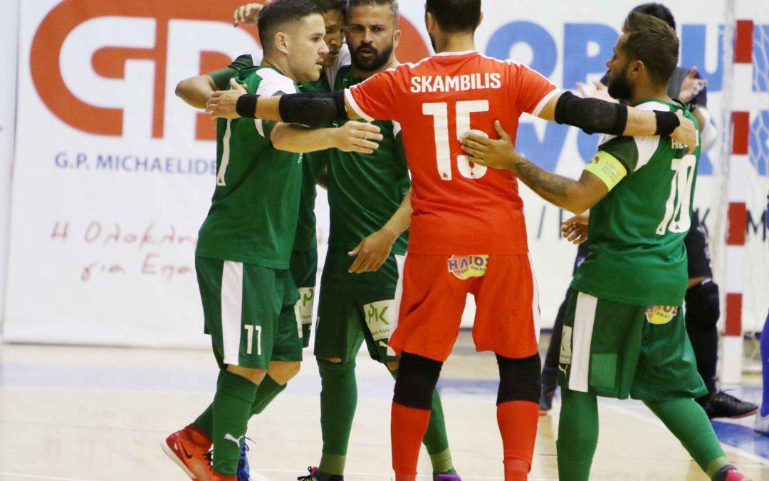 ΦΟΥΤΣΑΛ | Κέρδισε εκτός έδρας τον ΑΠΟΕΛ με 4-6 και πήρε προβάδισμα πρόκρισης στον τελικό
