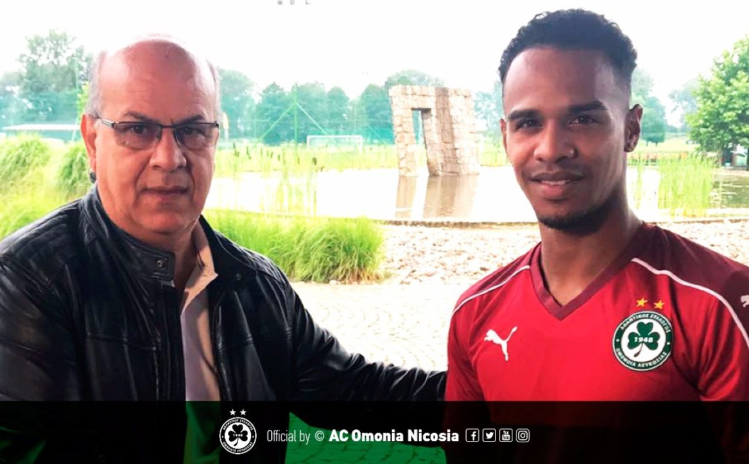 Ποδοσφαιριστής της ΟΜΟΝΟΙΑΣ ο Jarchinio Antonia