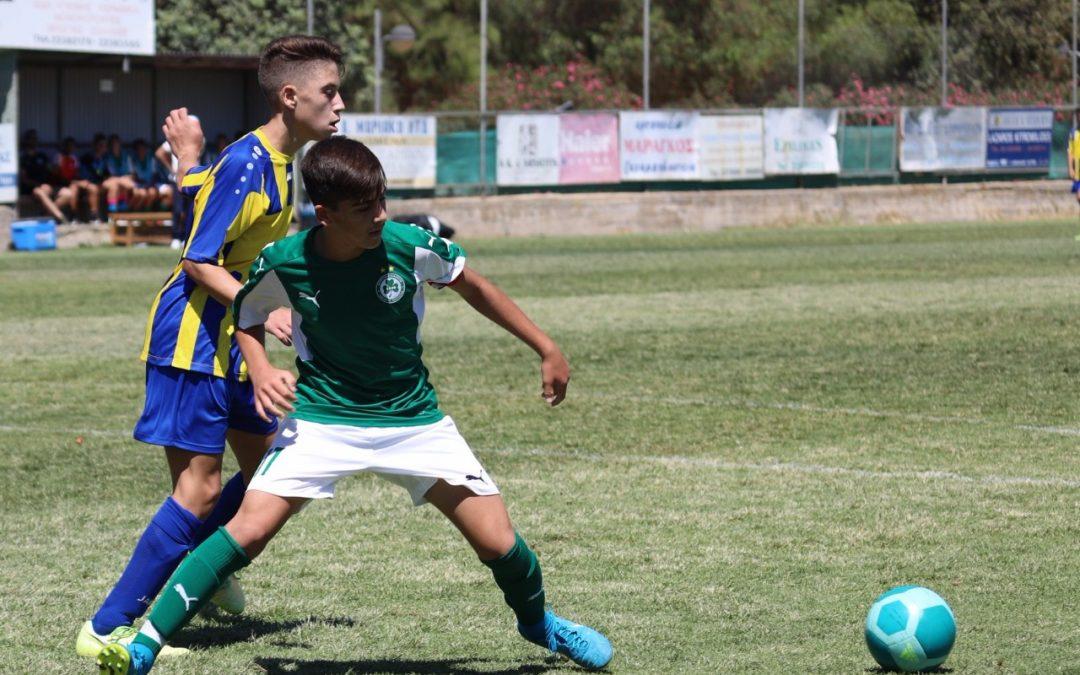 ΑΚΑΔΗΜΙΑ ΠΟΔΟΣΦΑΙΡΟΥ (αποτελέσματα) | 12 στα 12 για την U15, που κέρδισε 6-0 την ΑΕΛ στο ντέρμπι κορυφής