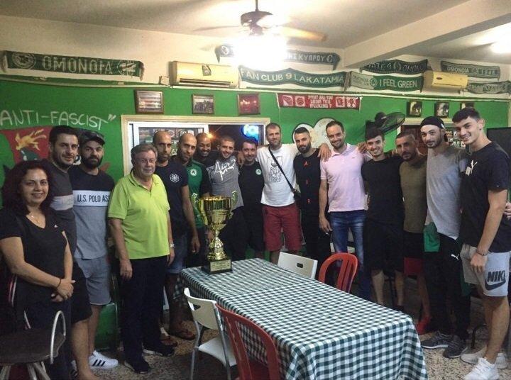 ΠΕΤΟΣΦΑΙΡΑ | Δεξιώθηκε την ομάδα πετόσφαιρας ο πρόεδρος του Σωματείου