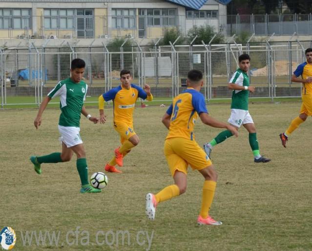ΑΚΑΔΗΜΙΑ ΠΟΔΟΣΦΑΙΡΟΥ | Προκρίθηκε στα ημιτελικά του κυπέλλου η ομάδα των U19