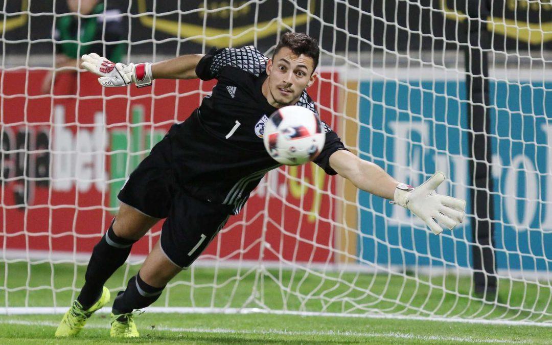Πολυτιμότερος ποδοσφαιριστής της Εθνικής Ελπίδων ο Αντρέας Χριστοδούλου