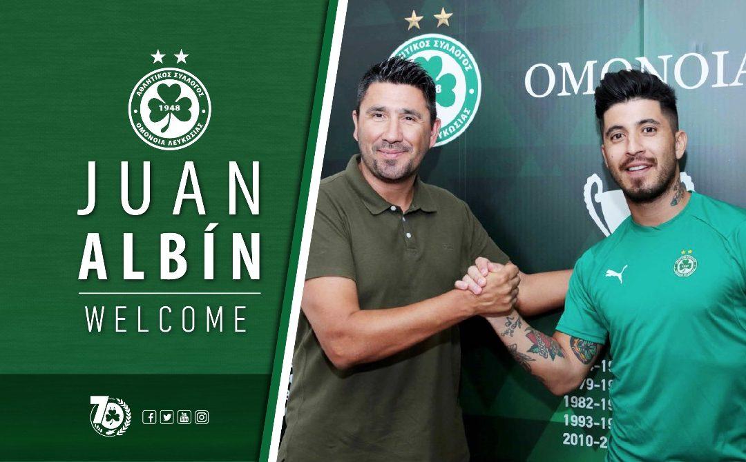 Ποδοσφαιριστής της ΟΜΟΝΟΙΑΣ ο Juan Albin