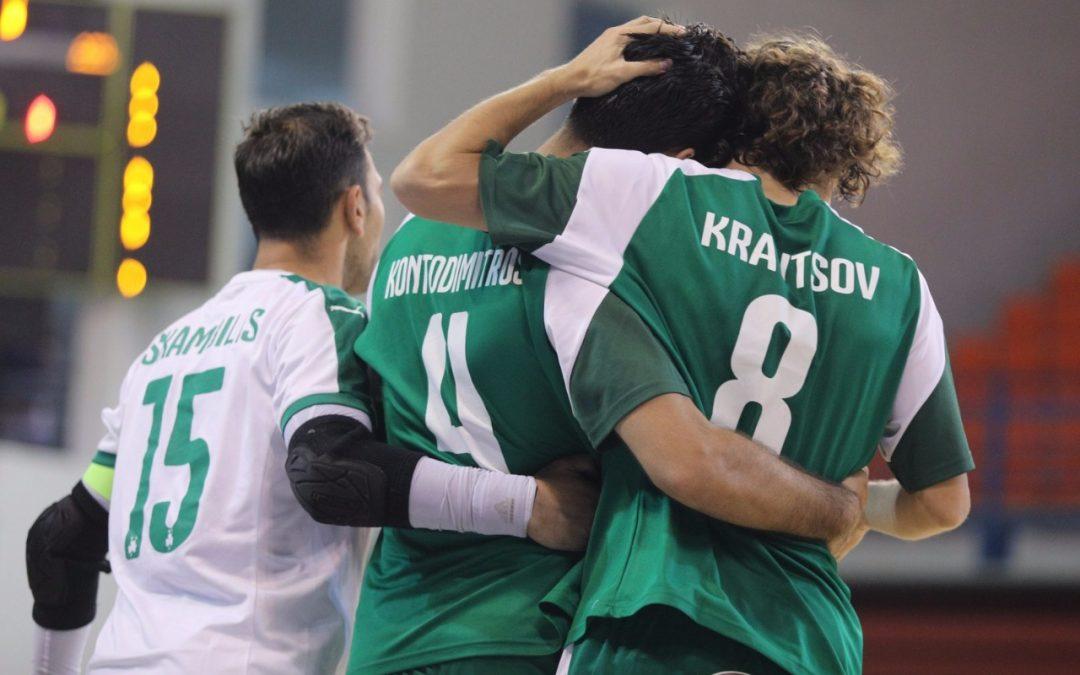 ΦΟΥΤΣΑΛ | Πρώτο βήμα πρόκρισης, με νίκη 11-2 σε βάρος του Εθνικού Λατσιών