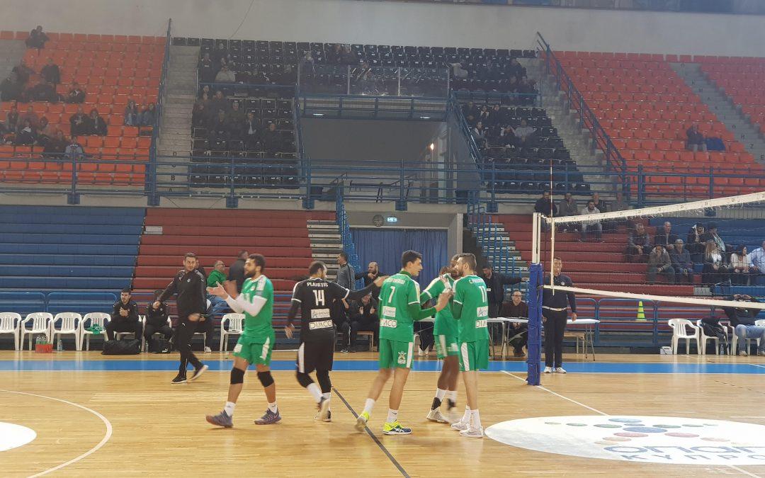 ΠΕΤΟΣΦΑΙΡΑ | Ασταμάτητη η ομάδα μας, ΟΜΟΝΟΙΑ – Α.Ε. Καραβά 3-0